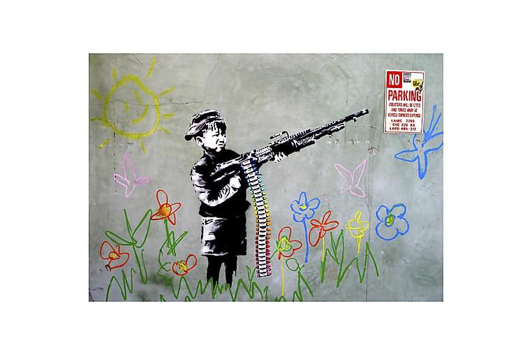 Author's inspirations billede Bansky Barn - Homemania - Boligtilbehør - Vægdekoration - Billeder på lærred