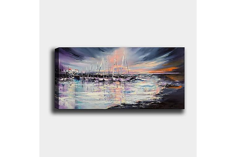 Canvasbillede YTY Nautical & Beach Flerfarvet - 120x50 cm - Boligtilbehør - Vægdekoration - Billeder på lærred