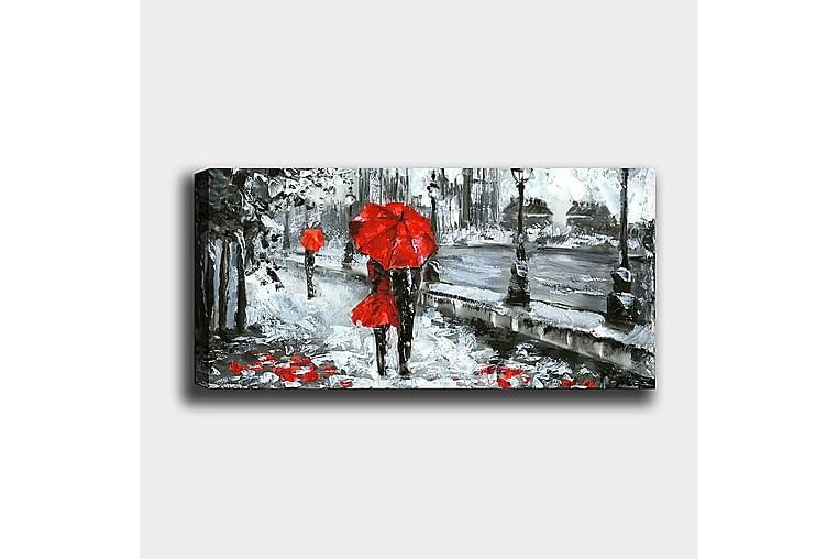 Canvasbillede YTY People Flerfarvet - 120x50 cm - Boligtilbehør - Vægdekoration - Billeder på lærred