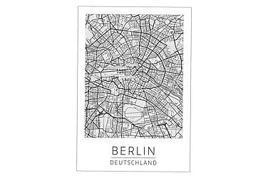 Berlin Bykort Poster