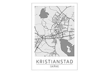 Kristianstad Bykort Poster