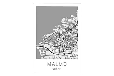 Malmø Bykort Poster