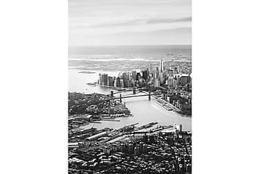 New York Poster B&W