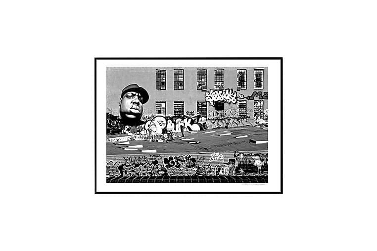Poster 5 pointz blk - Findes i flere størrelser - Boligtilbehør - Vægdekoration - Posters & plakater