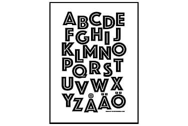 Poster Alfabet Wild
