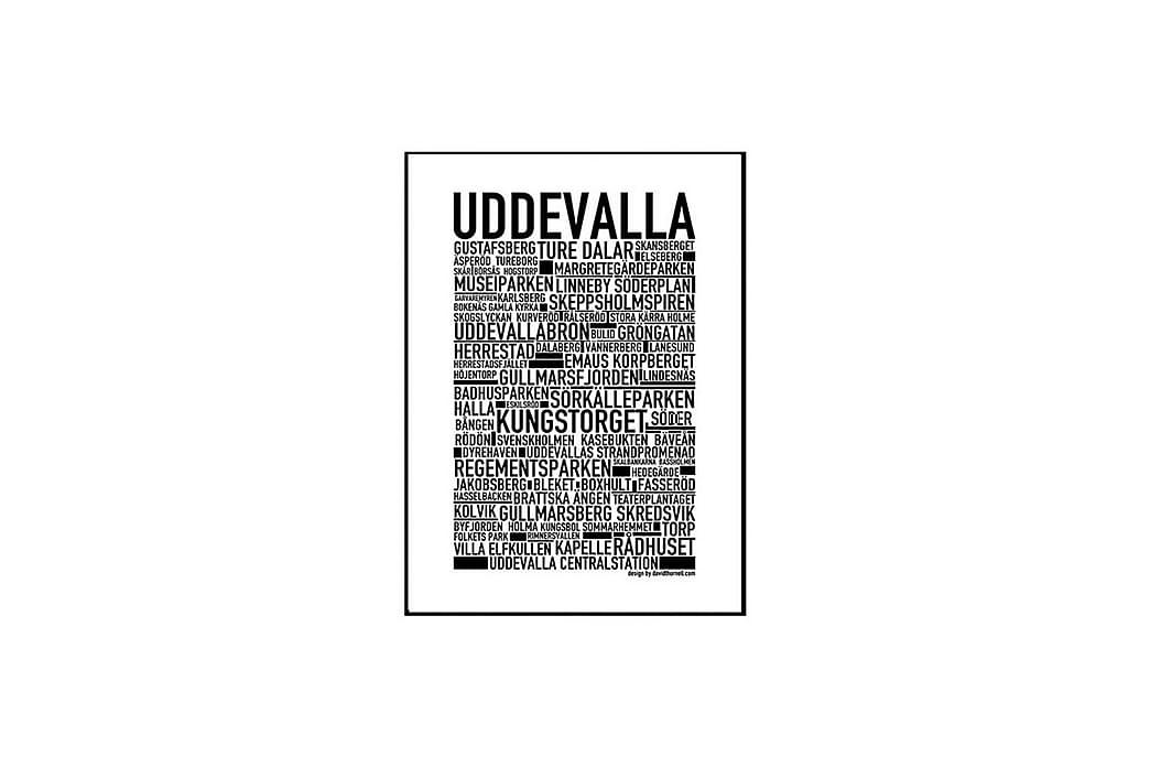 Poster Uddevalla - Findes i flere størrelser - Boligtilbehør - Vægdekoration - Posters & plakater
