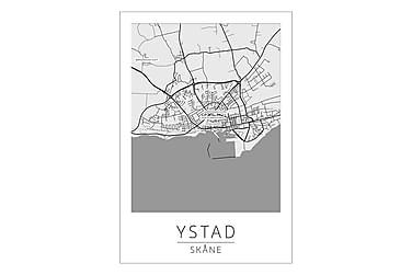 Ystad Bykort Poster