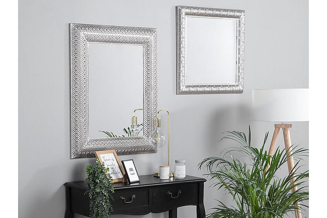 Pordic spejl 70 cm - Sølv - Boligtilbehør - Vægdekoration - Spejle