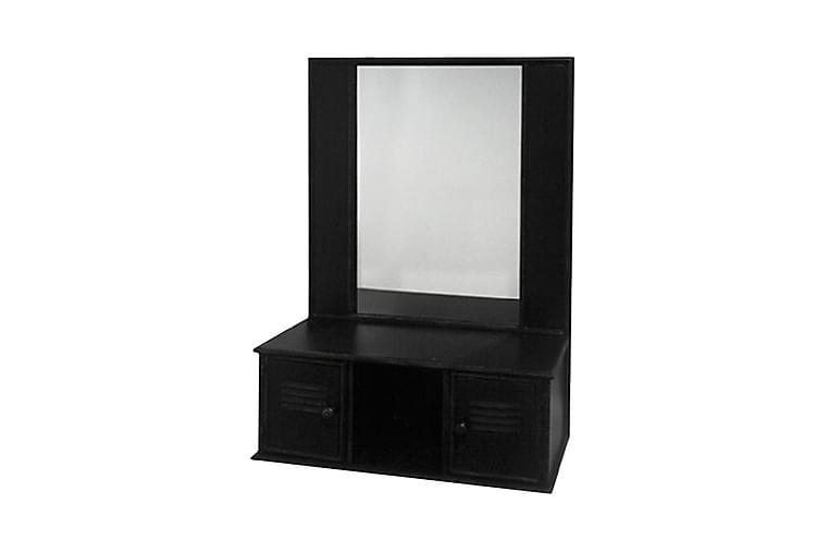 Tisselskog spejl 62 cm - Sort - Boligtilbehør - Vægdekoration - Spejle