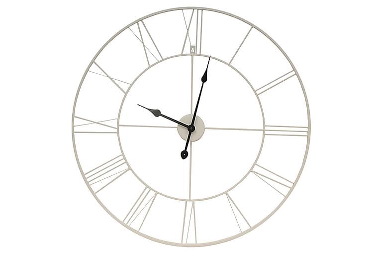 White ur - 80x80 cm - Boligtilbehør - Vægdekoration - Ure