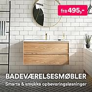 Badeværelsesmøbler