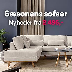 Sæsonens sofaer - Nyheder fra 2 495,-