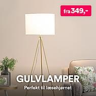 Gulvlampe & standerlampe