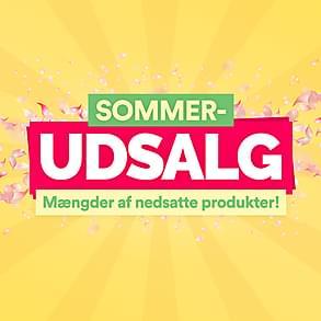Sommerudsalg- Mængder af prisnedsatte produkter!