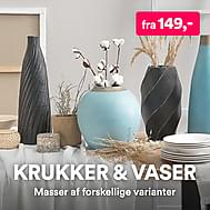 Krukker & vaser