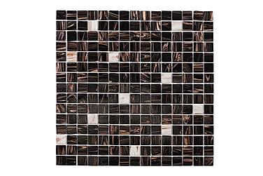 Mosaik Brun Hvid Touch 32,7X32,7