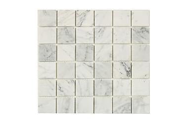 Mosaik Hvid Marble Grey 30X30