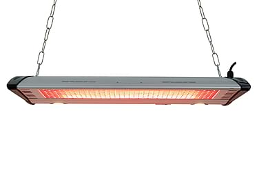 NSH Hortus terrassevarmer hængende 1000/2000 W