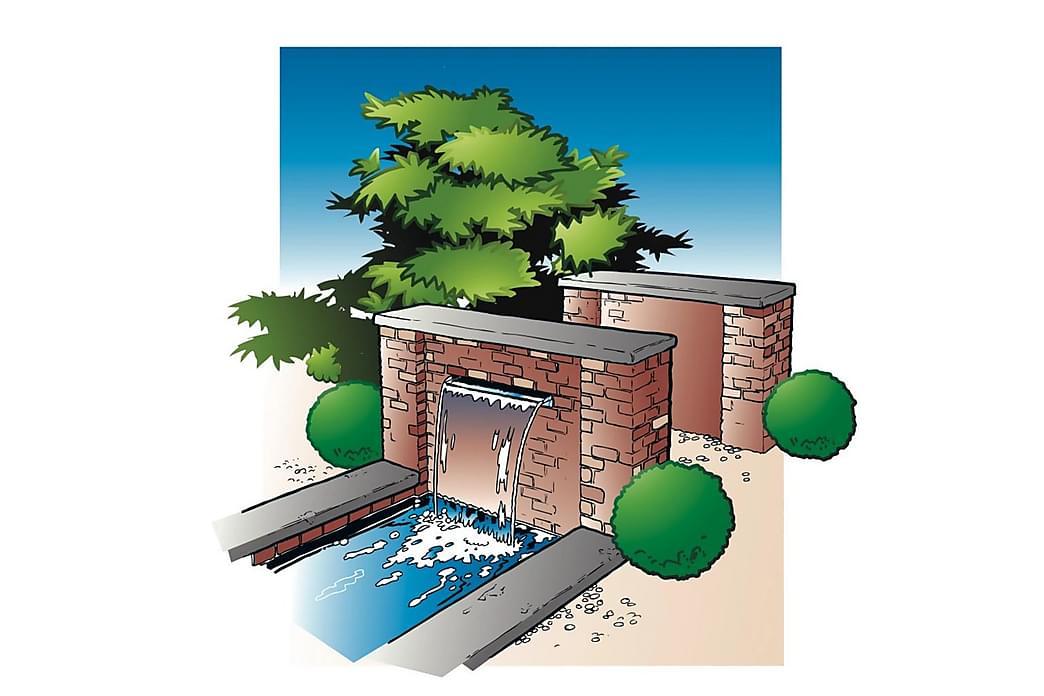 Ubbink Niagara vandfald 60 cm rustfrit stål - Have - Havedekoration & havemiljø - Damme & springvand