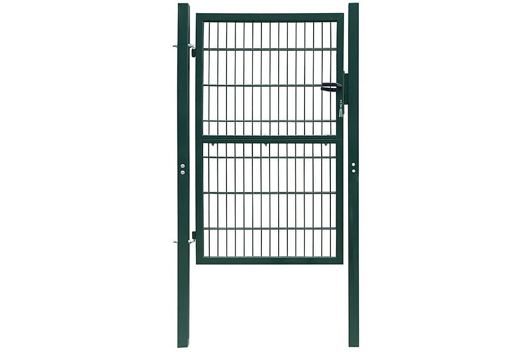 2D hegnslåge (enkelt) 106 x 170 cm grøn - Grøn - Have - Havedekoration & havemiljø - Hegn & Porte