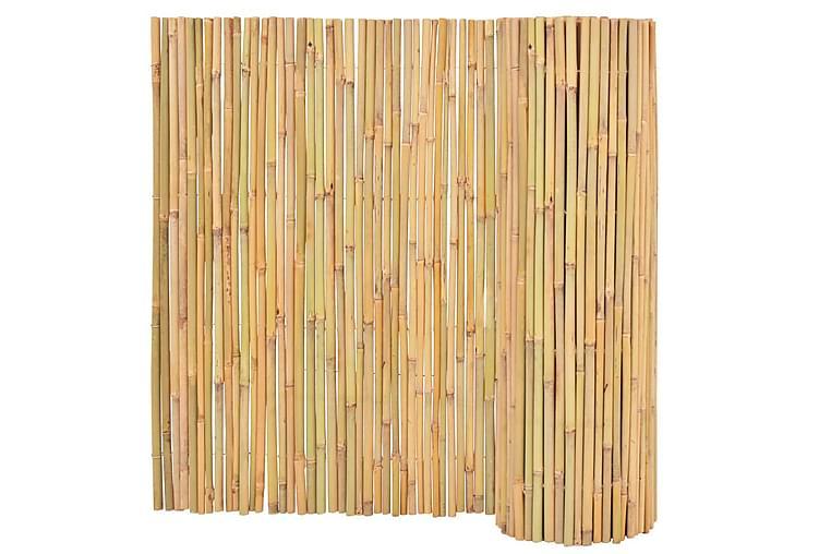 bambushegn 300 x 100 cm - Brun - Have - Havedekoration & havemiljø - Hegn & Porte