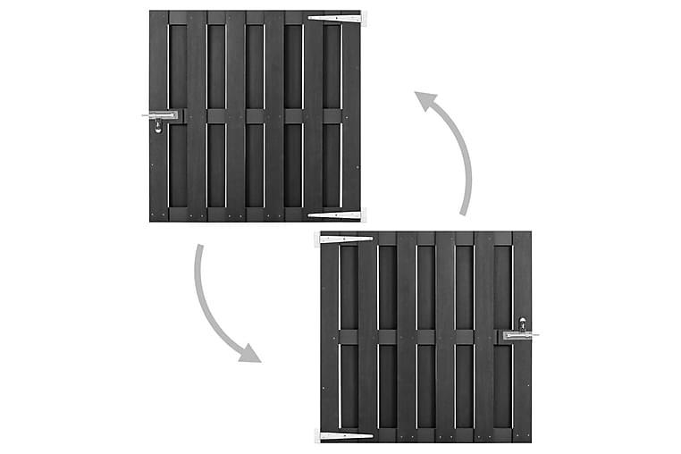 havelåge 100 x 100 cm WPC grå - Grå - Have - Havedekoration & havemiljø - Hegn & Porte