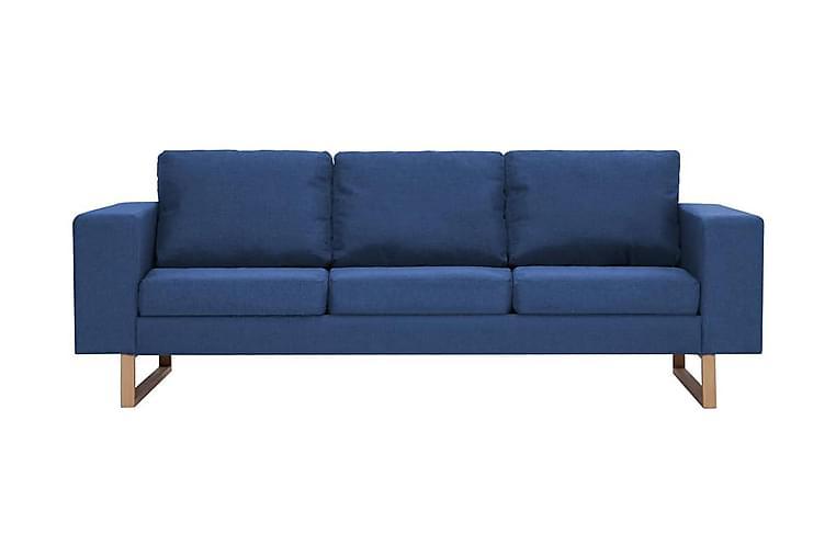 Sofasæt I 2 Dele Stof Blå - Blå - Have - Havedekoration & havemiljø - Hegn & Porte