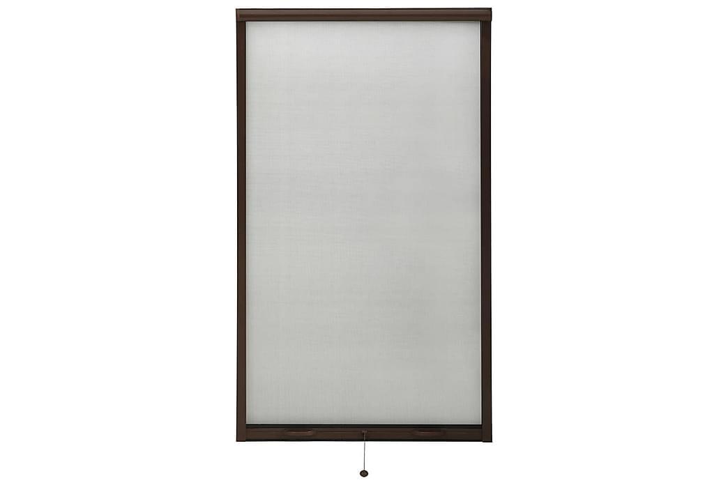 nedrulleligt insektnet til vinduer 90x170 cm brun - Brun - Have - Havedekoration & havemiljø - Myggenet