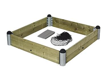 Pipe sandlådekit - inkl. Trykimprægnerete planker