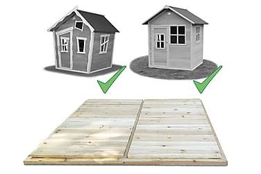 Trægolv Udbygning til Legehus 100