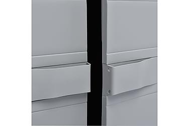 Opbevaringsskab Til Haven 65 X 38 X 171 Cm Plastik