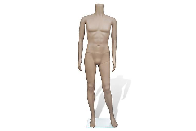Mannequin Mand Uden Hoved - Beige - Havemøbler - Hyndebokse & havemøbelovertræk - Havemøbelovertræk