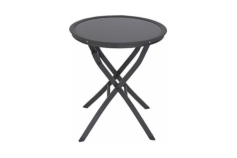 Messina Havebord - Mørkegrå/Glas - Havemøbler - Havebord - Loungeborde