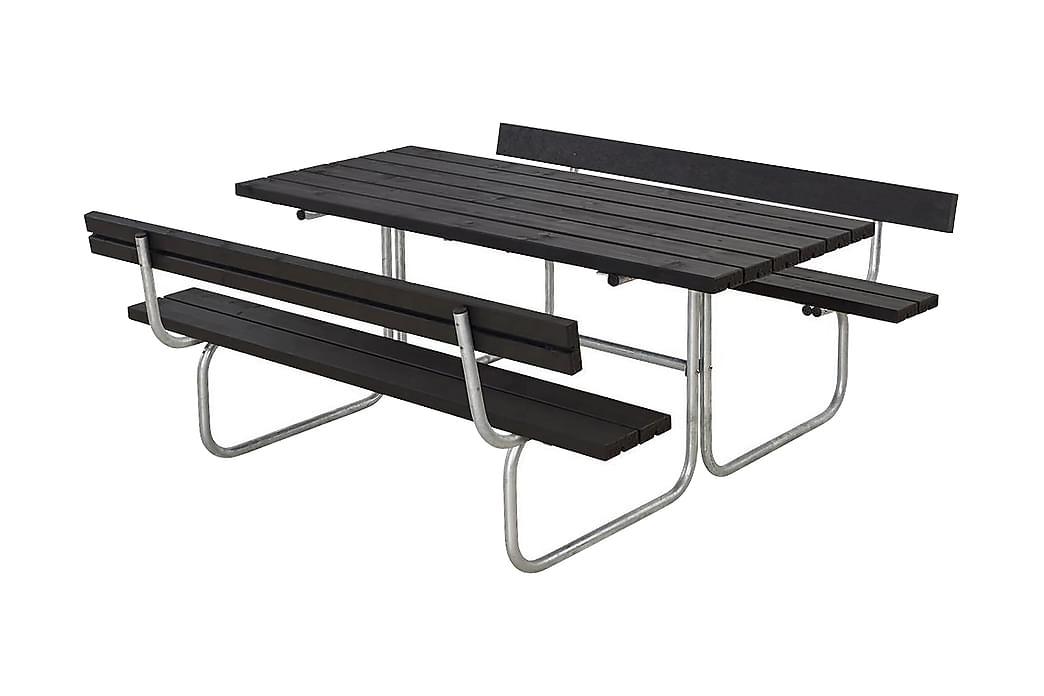 Classic bord- og bænkesæt med 2 ryglæn B: 177 L: 177 H: 75 - Havemøbler - Havebord - Picnicbord