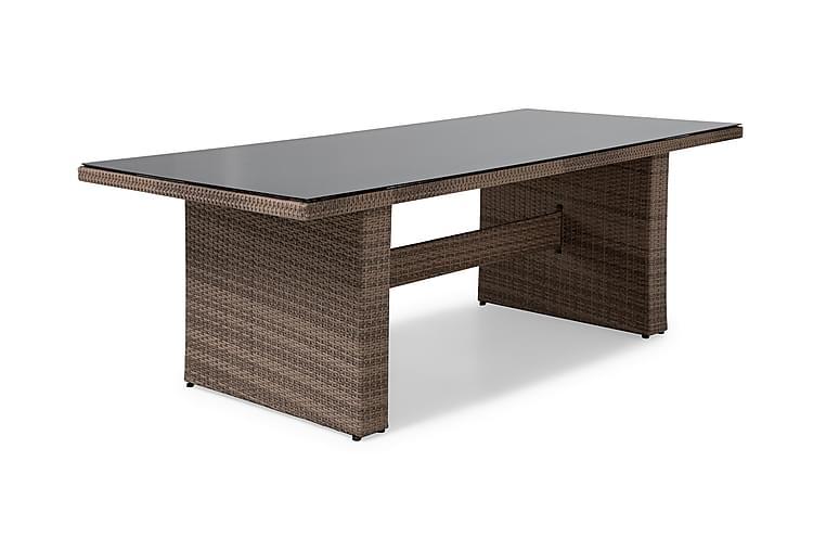 Majestic Spisebord 210x100 cm - Sand - Havemøbler - Havebord - Spisebord