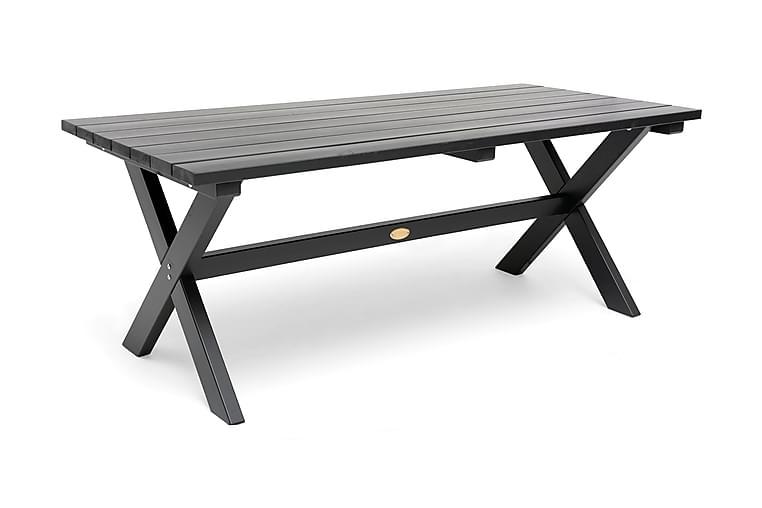 Shabby chic bord 195 cm grå - Hillerstorp - Havemøbler - Havebord - Spisebord