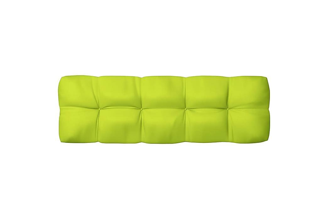 hynder til pallesofa 7 stk. lysegrøn - Grøn - Havemøbler - Hynder - Hynder til bænk & havesofa