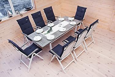 Alfa spisebordssæt til 8 personer
