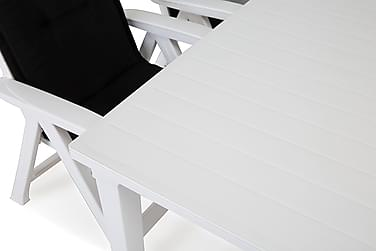 Futura Havesæt 165 + 4 Brasilia Positionsstole