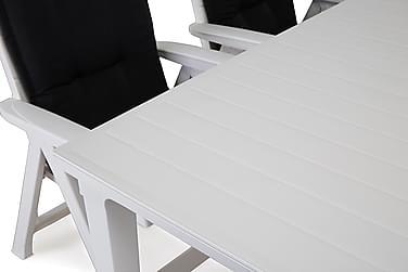 Futura Havesæt 165 + 6 Brasilia Positionsstole