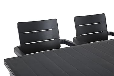 Futura Havesæt 165 + 6 Ibiza Stabelstole