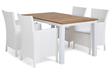Las Vegas Spisebordssæt 152-210 + 4 Lady Lænestol