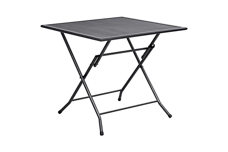 spisebordssæt til haven 5 dele stål antracitgrå - Antracit - Havemøbler - Havesæt - Komplette havesæt