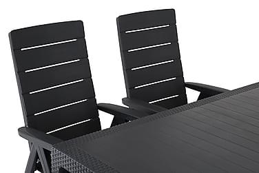 Symphony Havesæt + 6 Brasilia Positionsstole