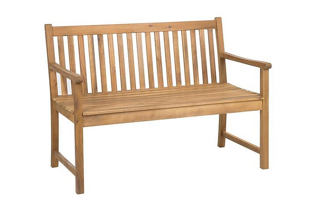 Iazzetta Havebænk 120 cm - Træ / natur - Havemøbler - Havesofaer & bænke - Bænke