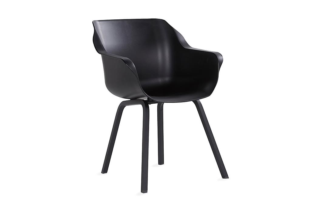 Ashby Lænestol Sort - Hartman - Havemøbler - Stole & lænestole - Lænestole