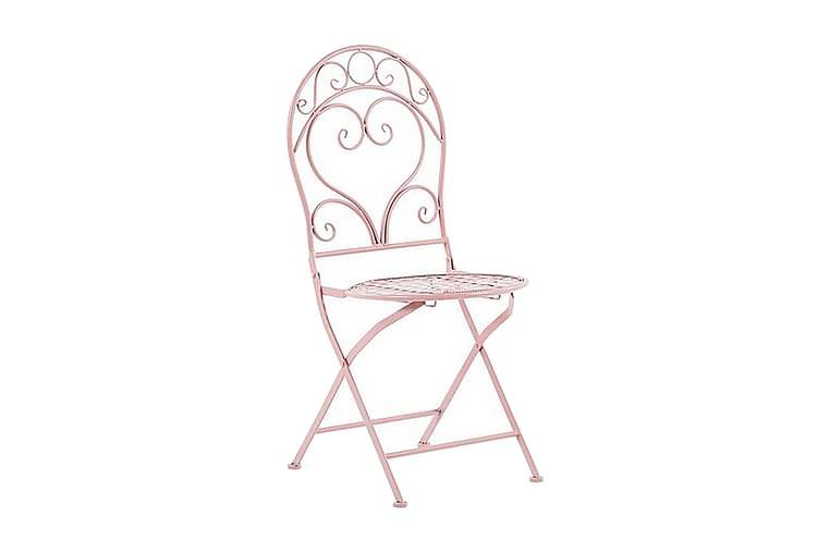 Courville Balkonstol 2-pak - Lyserød - Havemøbler - Stole & lænestole - Spisebordsstole