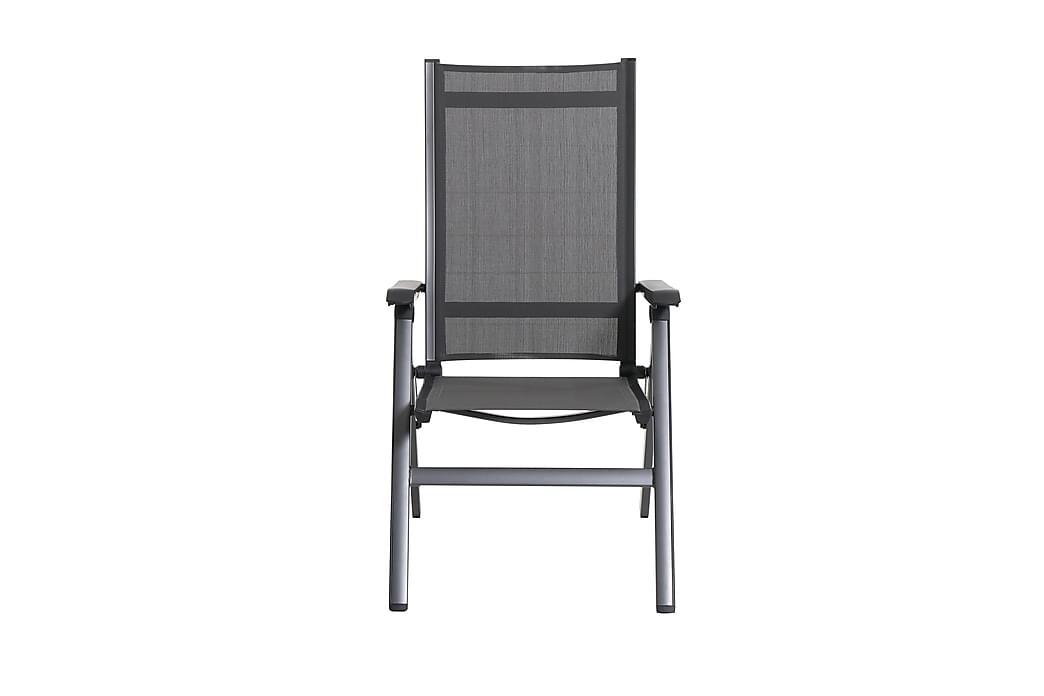Toninas positionsstol - Grå - Havemøbler - Stole & lænestole - Spisebordsstole