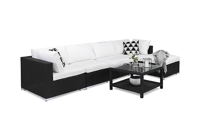 Bahamas Loungesæt - Polyrattan - Havemøbler - Loungemøbler - Loungesæt