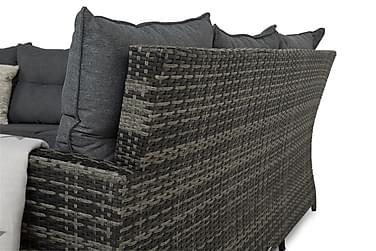 James Loungesæt Bord+Sofa Højre
